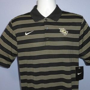 Nike Dri-Fit Black UCF Short Sleeve Polo Shirt S
